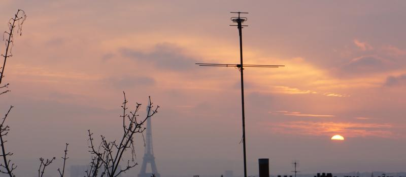 coucher soleil montmartre